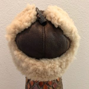 Cole Haan Accessories - Cole Haan shearling trapper hat 🐑